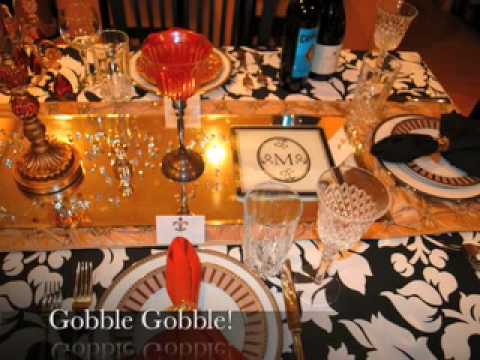 How to Set and DECORATE a Perfect Informal Table Place Setting for Thanksgiving Dinner! Easy! & How to Set and DECORATE a Perfect Informal Table Place Setting for ...