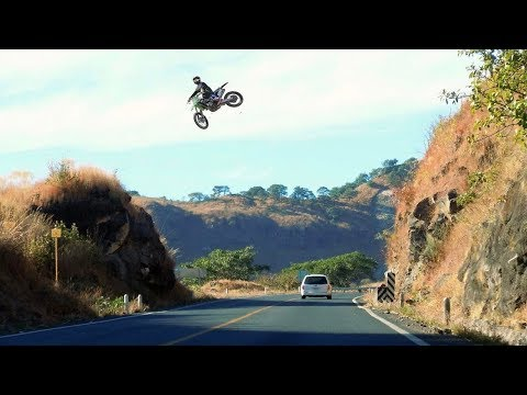 INSANE MX HIGHWAY JUMPS 😲 #SEND IT