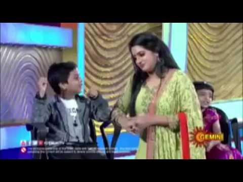 Udaya bhanu shocked by kid