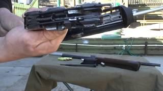 Ружье ВПО-210 Тукан  в разобранном виде.