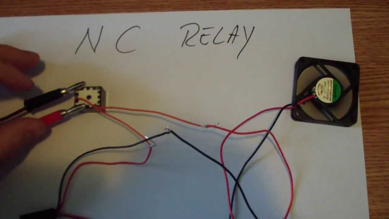 240v Wiring Diagram Switch Normally Closed Relay Switch Youtube