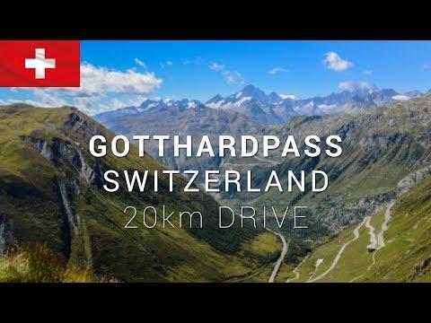Gotthardpass Switzerland Drive 2017 | CAMERA ON CAR [4K] | Subaru Forester