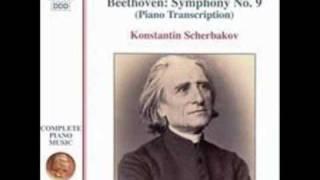 Beethoven/Liszt - Symphony No 9 Piano 1st Movement Part 1 of 2