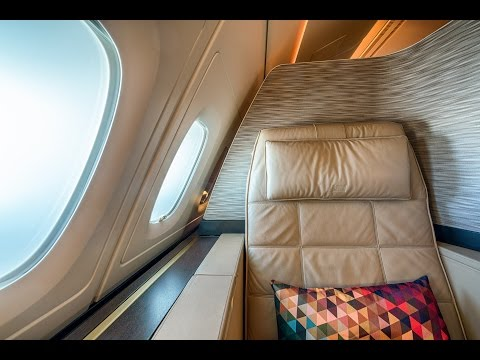 Amazing Etihad A380 First Class Apartments! (in 4K!)
