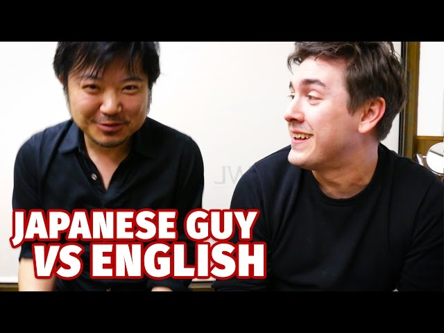 Japanese Guy VS English | First Lesson Ever
