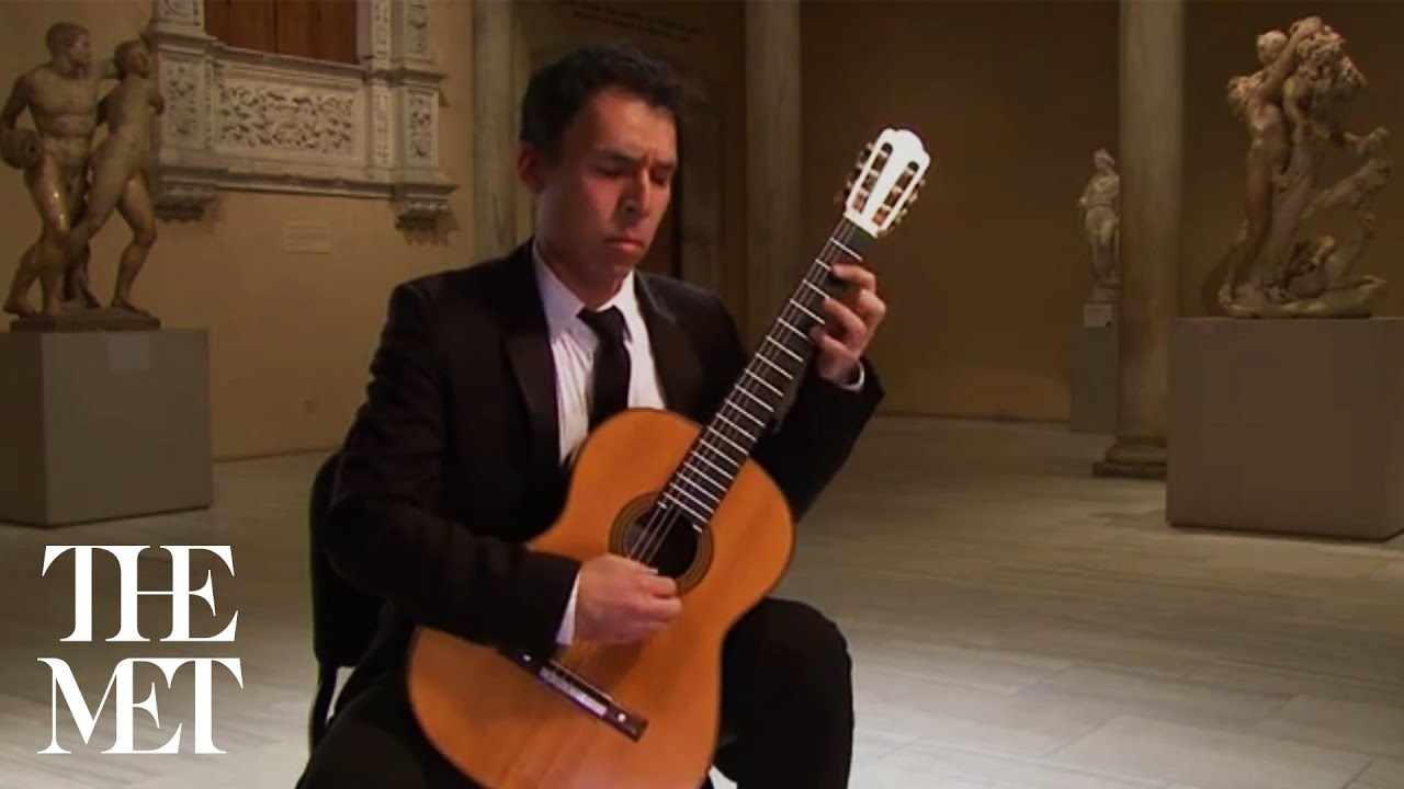 Jorge Caballero plays El Puerto, by Isaac Albeniz