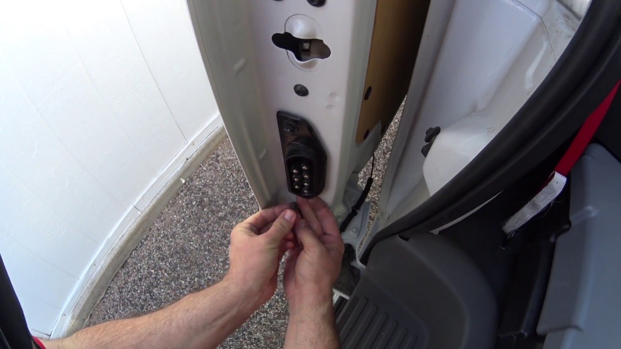 The Nissan Nv 1500 2500 3500 Sliding Door Fix Electrical