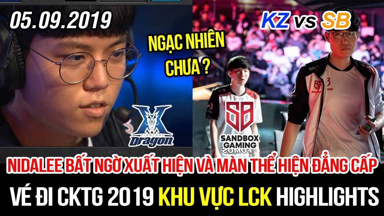 [Vé đi CKTG 2019] KZ vs SB Game 3 Highlights | Nidalee bất ngờ trở lại và màn thể hiện quá đẳng cấp