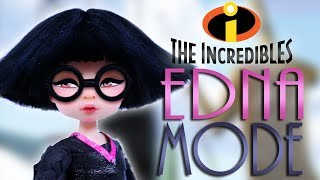Custom Edna Mode Doll [ THE INCREDIBLES ]