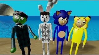 Easter Bunny, Zombie Billy + Sonic, Pikachu Baldi! | Roblox Studio Morph Making