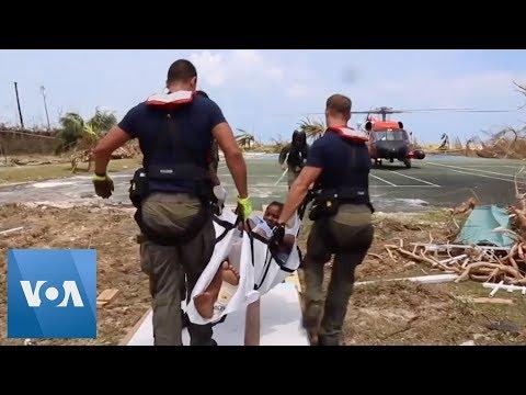 US Coast Guard Takes Part in Bahamas Hurricane Dorian Rescue Effort