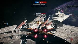 Star Wars Battlefront 2 - 'Starfighter Assault' 9 Minutes of NEW Gameplay | Gamescom 2017 (1080p)