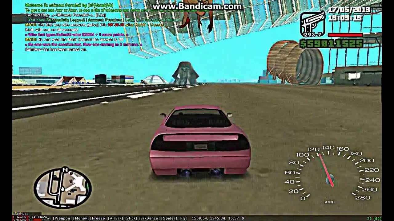 Rainbow Cars Fs Sa Mp Youtube
