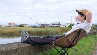 【田舎の釣り暮らし】天然ウナギを釣って、ひつまぶしを食べたい