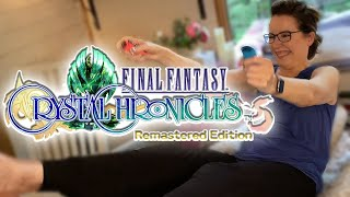 Final Fantasy Crystal Chronicles | NARRATOR REACTS | Donna Burke