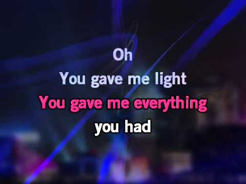 Sarah McLachlan I Will Remember You Video Karaoke Instrumental