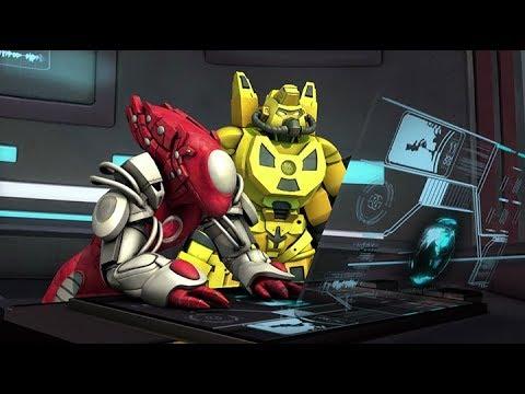 ATOMICRON   Xenon' Siege   Full Episode 12   Cartoon Series For Kids   English