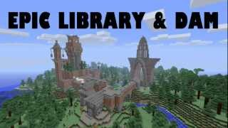 Download Epic Minecraft Library and Piston Dam + DOWNLOAD Mp3 and Videos