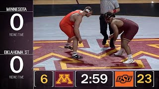 HWT: #3 Derek White (Oklahoma State) Vs. #5 Gable Steveson (Minnesota) | Big Ten Wrestling