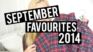September Favourites 2014