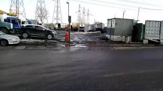 Москва против. Свалка снега в пойме Москвы реки в Братеево
