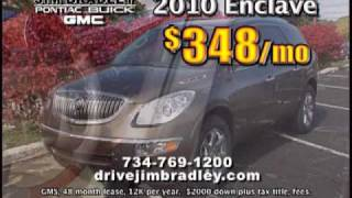 Jim Bradley Pontiac Buick GMC located in Ann Arbor MI, you new and used vehicle dealer
