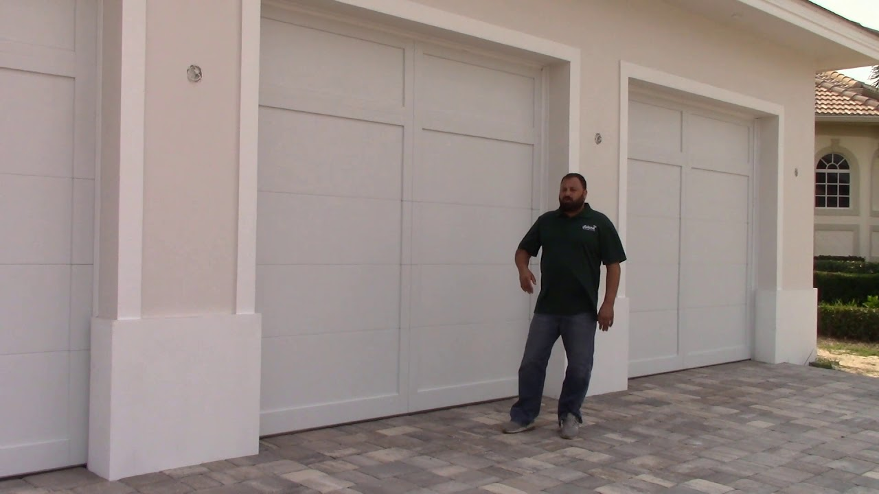 An Example Of Our Hurricane Impact Garage Doors Youtube