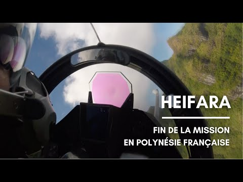 HEIFARA : la mission se termine en Polynésie française