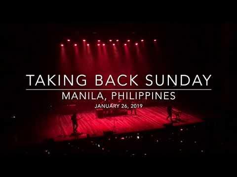 Taking Back Sunday 20th Anniversary Tour   Manila, Philippines   01/26/19