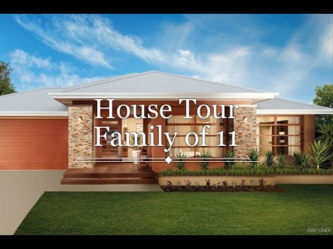 House Tour of an Australian Large Family