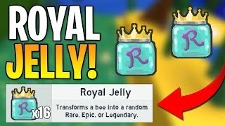 ALL NEW SECRET ROYAL JELLY LOCATIONS! (Roblox Bee Swarm Simulator)