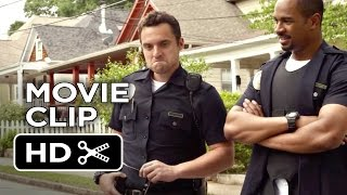 Let's Be Cops Movie CLIP - Isn't This So Illegal? (2014) - Jake Johnson, Damon Wayans Jr. Movie HD