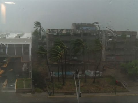 Raw: Hurricane Patricia Makes Landfall in Mexico