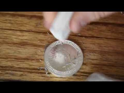 How to remove Milk Spots and Fingerprints from Silver Coins