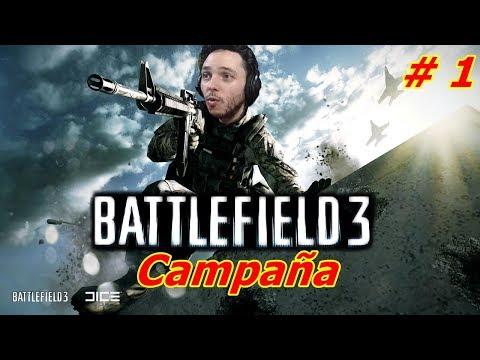 Empezamos campaña - Battlefield 3 - Paco Sanchez el Soldado Actual