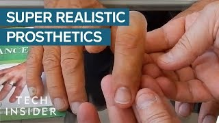 You'll Be Surprised These Realistic Prosthetics Are Fake
