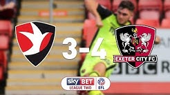 Cheltenham Town 3 Exeter City 4 (26/8/17) EFL Sky Bet League 2 Highlights