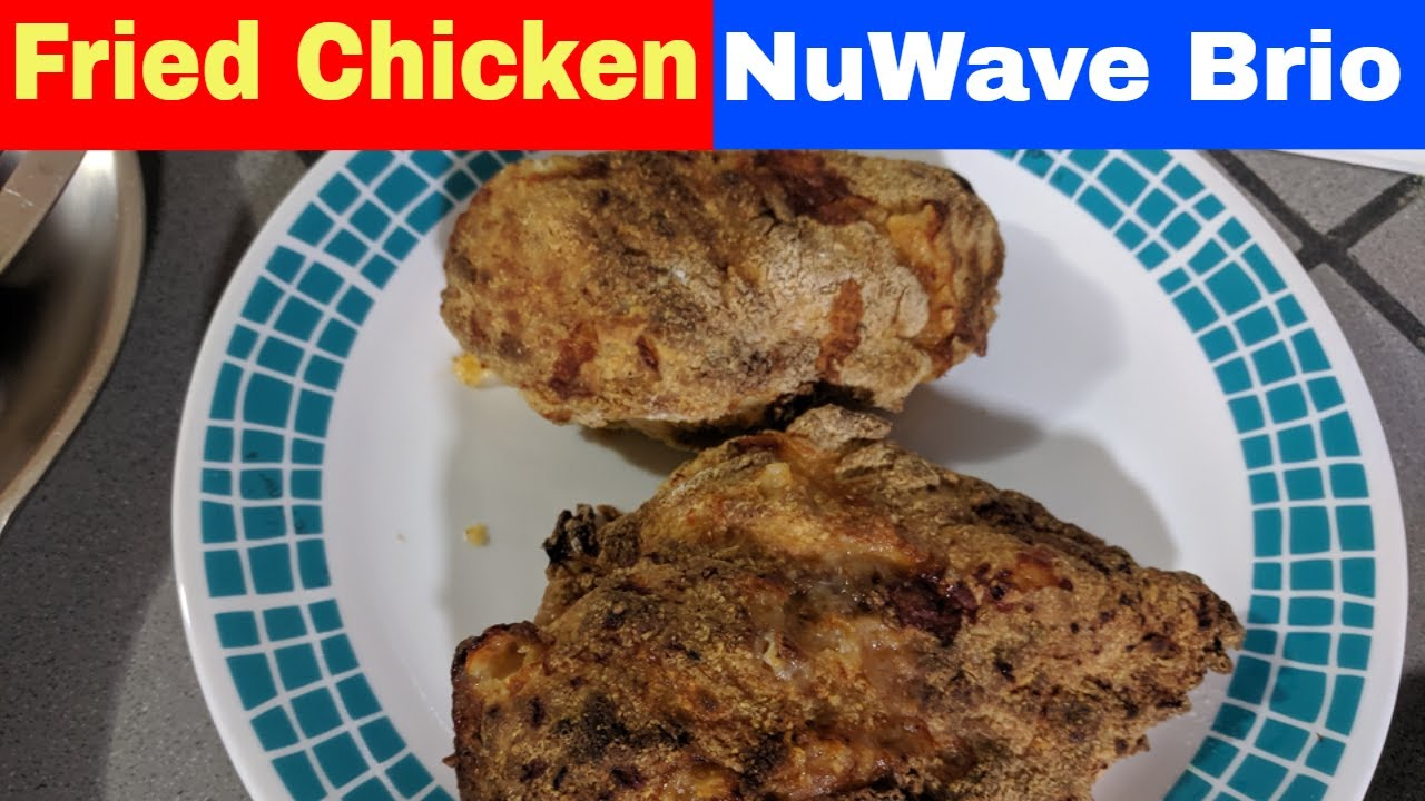 Air Fried Chicken Breast Recipe Nuwave Brio 14q 14 Quart Youtube