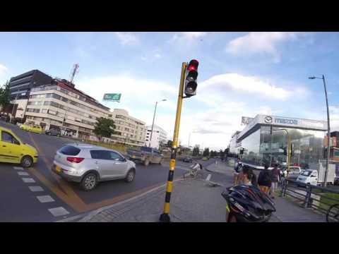 Estado de la cicloruta Avenida 19 Bogotá