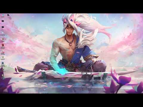 wallpaper engine Yasuo Spirit Blossom in 4K free