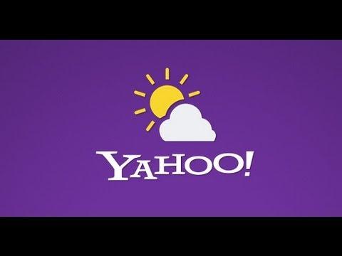 Погода от Yahoo - Лучшее приложение о погоде