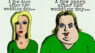 Why women gain weight after marriage