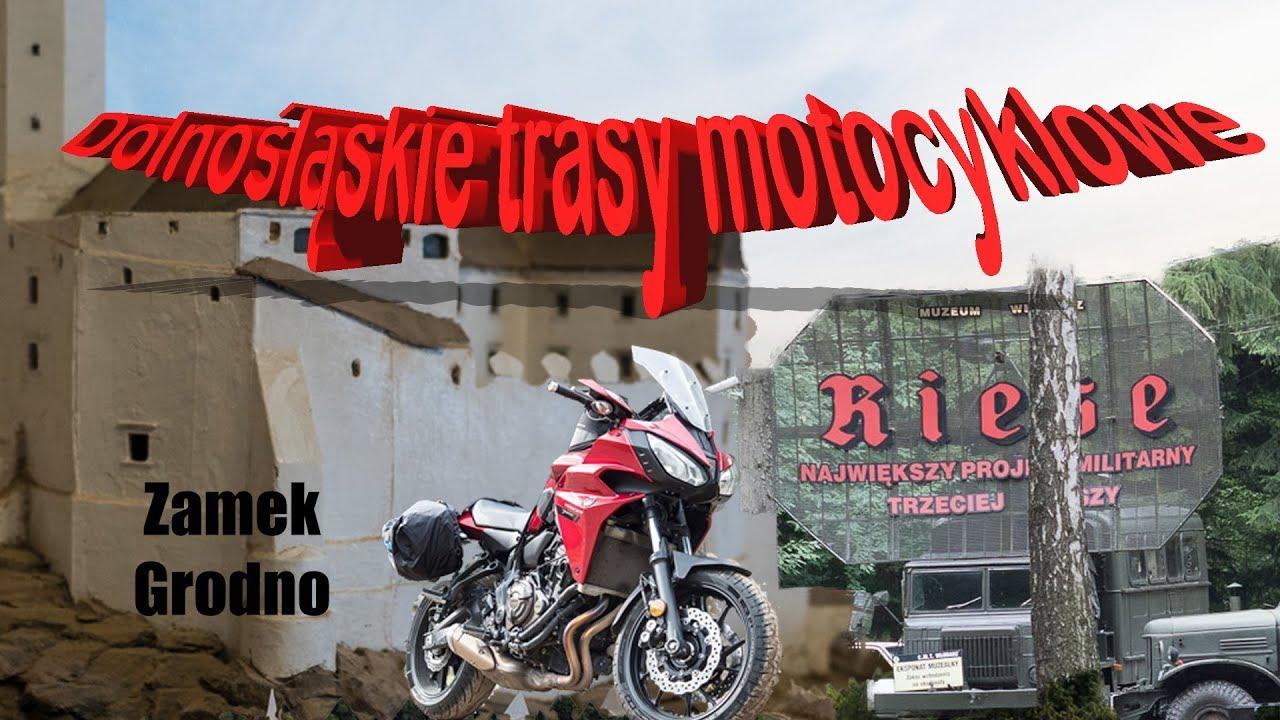 Dolnośląskie szlaki motocyklowe:  Riese - Włodarz i zamek Grodno