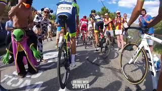 Video Tour de France 2018: Stage 12 on-bike highlights download MP3, 3GP, MP4, WEBM, AVI, FLV Juli 2018