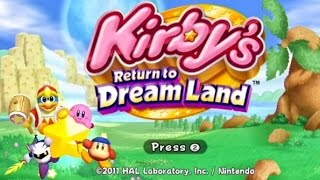 Wii Longplay [017] Kirby's Return to Dream Land (Part 1 of 2)