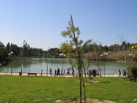 Walking in Athens - Antonis Tritsis Park