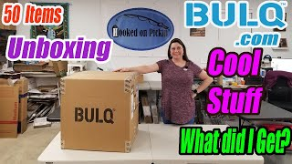 Gambar cover Bulq.com Unboxing of 50 items -New Condition  Can I make Money? What is the Profit? Online Reselling
