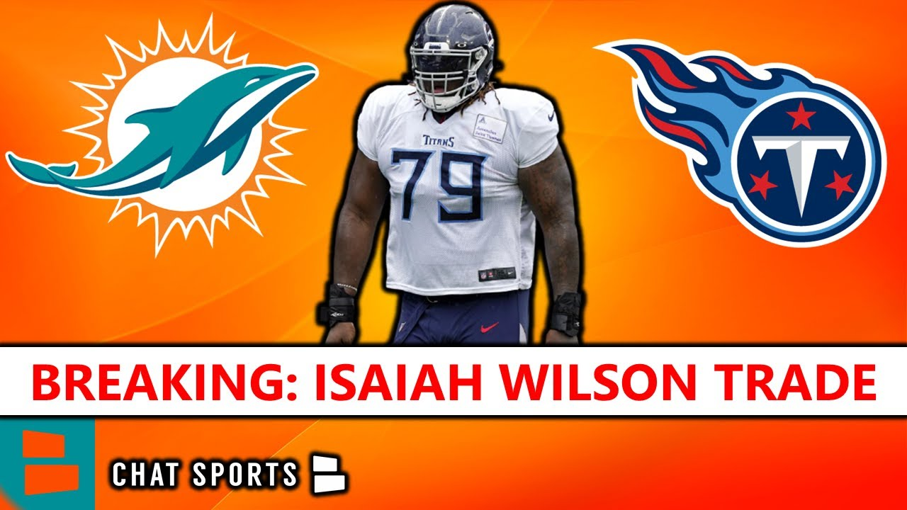 Miami Dolphins release former first-round pick Isaiah Wilson