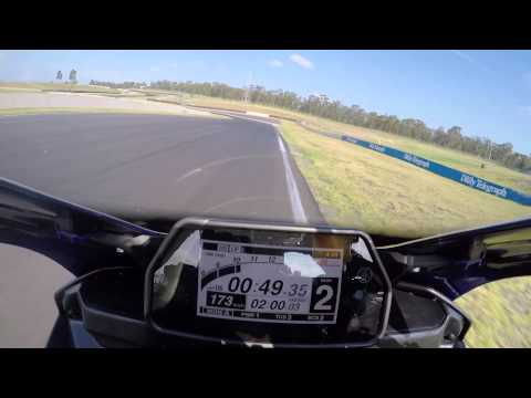 Yamaha YZF-R1, Sydney Motorsports Park press launch on-board lap, 2015 official