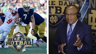 Brian Kelly, Ian Book talk Notre Dame's victory over New Mexico | NBC Sports